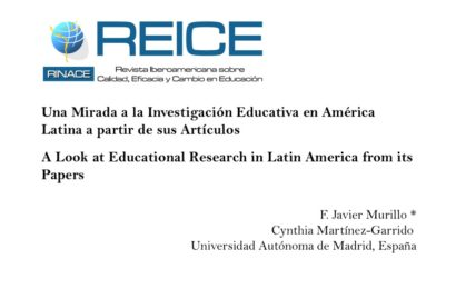 A look at educational research in Latin America from its papers